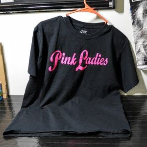 Pink Ladies Grease 50s Retro Unisex T-shirt Tee M